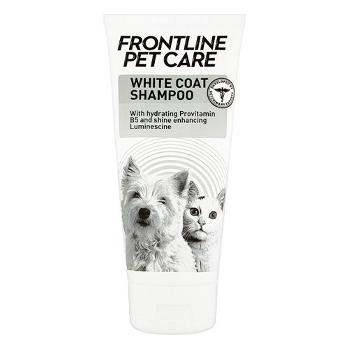 Frontline Pet Care White Coat Shampoo for Dogs & Cats