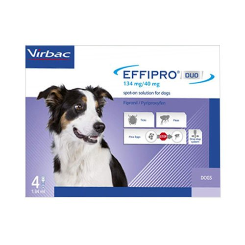 Effipro DUO Spot-On  For Medium Dogs 23 to 44 lbs.