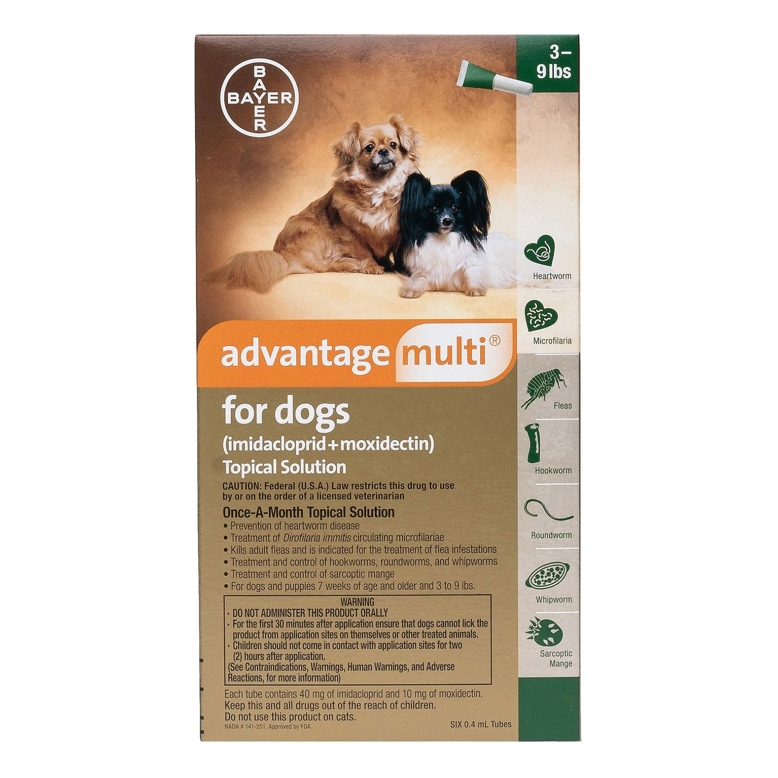 Advantage Multi (Advocate) for Dogs