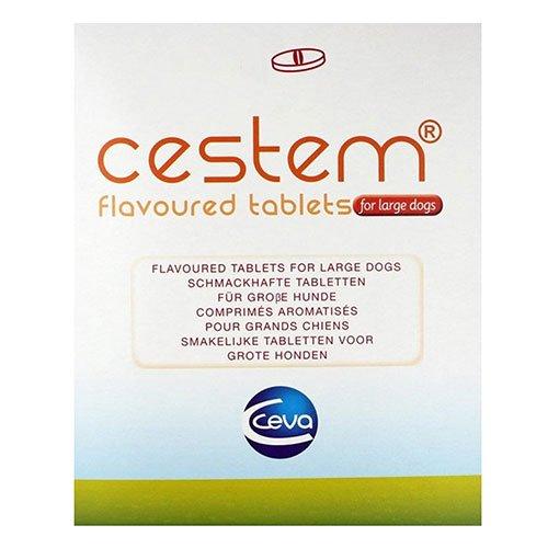 Cestem Flavor Tablets for Large Dogs