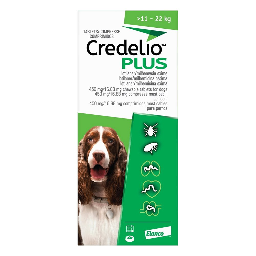Credelio Plus For Large Dog 11-22kg Green