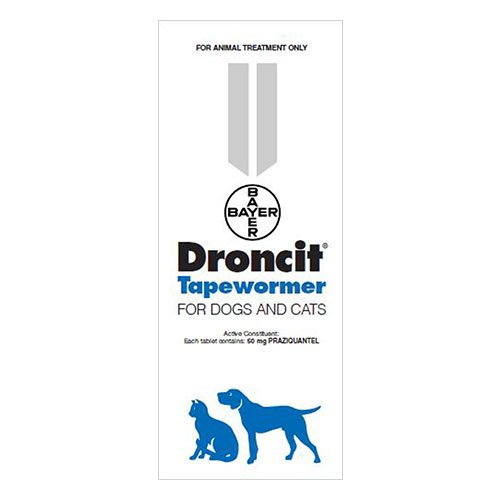Droncit Tapewormer for Dogs