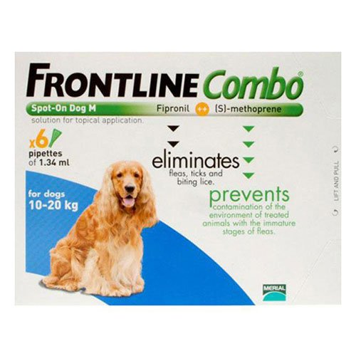 Frontline Plus (COMBO) for Medium Dogs 23-44 lbs (Blue)