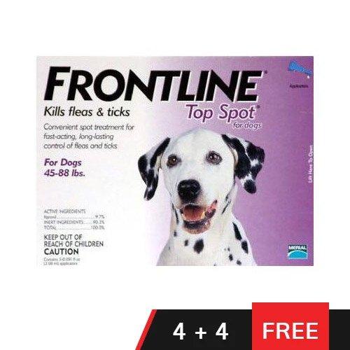 Frontline Top Spot Large Dogs 45-88lbs (Purple)