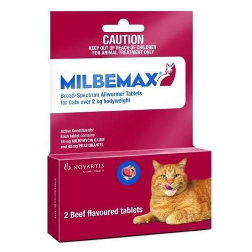 Milbemax  For Cats 2Kg-8kg