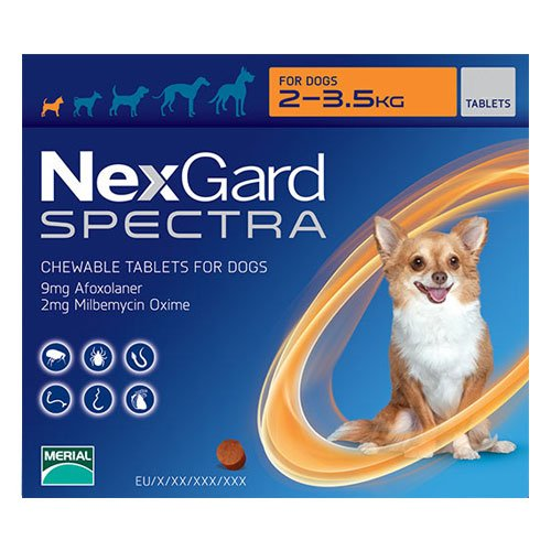 Nexgard Spectra for Dogs