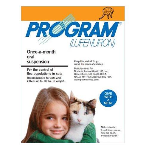 Program Oral Suspension 0-10 lbs Cats (Orange)