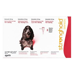 Stronghold Dogs 10.1-20.0 Kg 120 mg (Red)