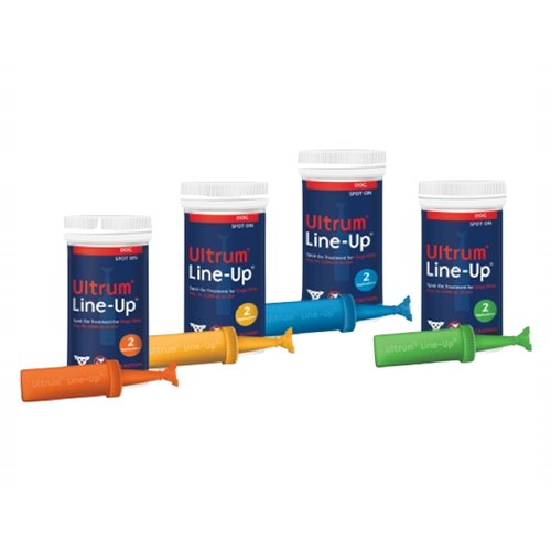 Ultrum Line-up Spot-on for Medium Dogs 22-44 lbs (Green)